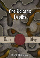 Seafoot Games - The Volcanic Depths | 20x30 Battlemap