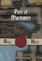 Seafoot Games - Port of Murkmire | 20x30 Battlemap