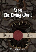 Seafoot Games - Xeros, The Living World | 40x30 Battlemap