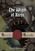 The Wrath of Xeros | 40x30 Battlemaps [BUNDLE]