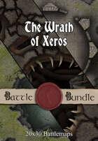 The Wrath of Xeros | 40x30 Battlemaps [BUNDLE]