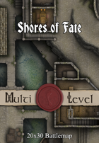 30x20 Multi-Level Battlemap - Shores of Fate