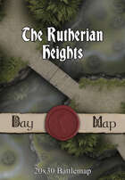 30x20 Battlemap - The Rutherian Heights