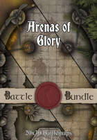 Arenas of Glory | 30x20 Battlemaps [BUNDLE]