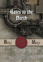 40x30 Battlemap - Gates to the North