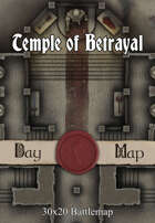 30x20 Battlemap - Temple of Betrayal
