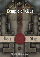 30x20 Battlemap - Temple of War
