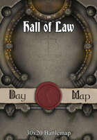 30x20 Battlemap - Hall of Law