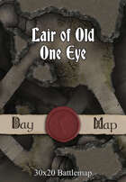 Lair of Old One Eye map