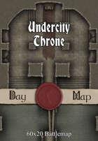 60x20 Battlemap - Undercity Throne