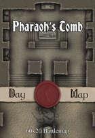 60x20 Battlemap - Pharaoh's Tomb