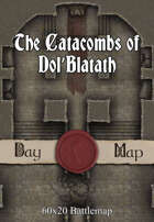 60x20 Battlemap - The Catacombs of Dol'Blatath