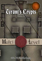 Tyrant's Crypt | 60x20 Battlemaps [BUNDLE]