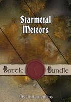 Starmetal Meteors | 30x30 Battlemap [BUNDLE]
