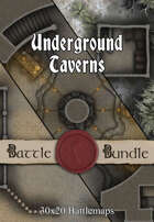 Underground Taverns | 30x20 Battlemaps [BUNDLE]