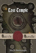 Lost Temple | 30x20 Battlemaps [BUNDLE]