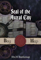 30x20 Battlemap - Seal of the Astral City