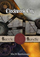 Clockwork City | 30x20 Battlemaps [BUNDLE]