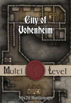 30x20 Multi-Level Battlemap - City of Vohenheim