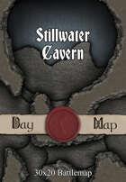 30x20 Battlemap - Stillwater Cavern
