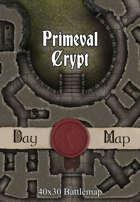 40x30 Battlemap - Primeval Crypt