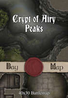 40x30 Battlemap - Crypt of Airy Peaks