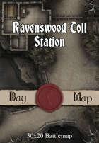 30x20 Battlemap - Ravenswood Toll Station