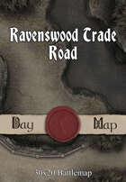 30x20 Battlemap - Ravenswood Trade Road