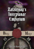 Zalzornag's Interplanar Emporium map