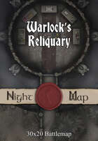 Warlock's Reliquary map
