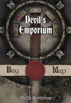 30x20 Battlemap - Devil's Emporium