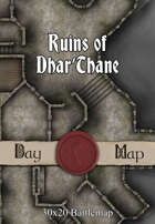 30x20 Multi-Level Battlemap - Ruins of Dhar'Thane