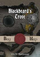 40x30 Battlemap - Blackbeard's Trove