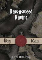 40x30 Battlemap - Ravenswood Ravine