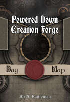 30x20 Battlemap - Powered Down Creation Forge