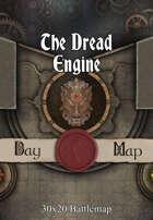 30x20 Battlemap - The Dread Engine