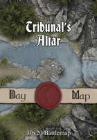 30x20 Battlemap - Tribunal's Altar
