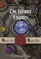 The Infinity Engines | 30x20 Battlemaps [BUNDLE]