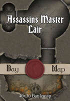 40x30 Battlemap - Assassins Master Lair