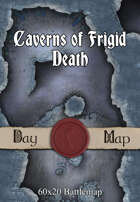 60x20 Battlemap - Caverns of Frigid Death