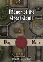 40x30 Battlemap - Manor of the Great Vault