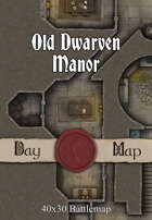 40x30 Battlemap - Old Dwarven Manor