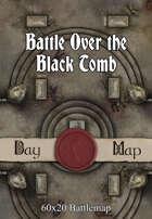 60x20 Battlemap - Battle Over the Black Tomb