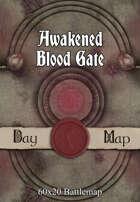 60x20 Battlemap - Awakened Blood Gate