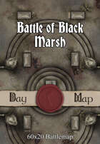 60x20 Battlemap - Battle of Black Marsh