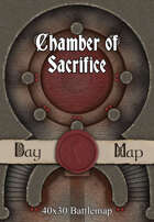 40x30 Battlemap - Chamber of Sacrifice