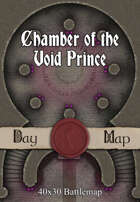 40x30 Battlemap - Chamber of the Void Prince
