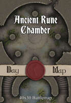 40x30 Battlemap - Ancient Rune Chamber