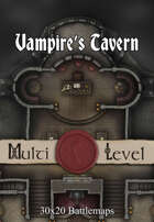 30x20 Multi-Level Battlemap - Vampire's Tavern