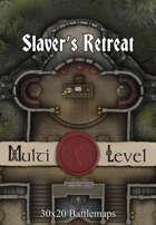 30x20 Multi-Level Battlemap - Slaver's Retreat
